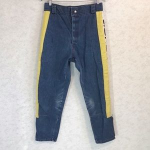 Vintage 1970s Denim Suzuki Motocross Pants